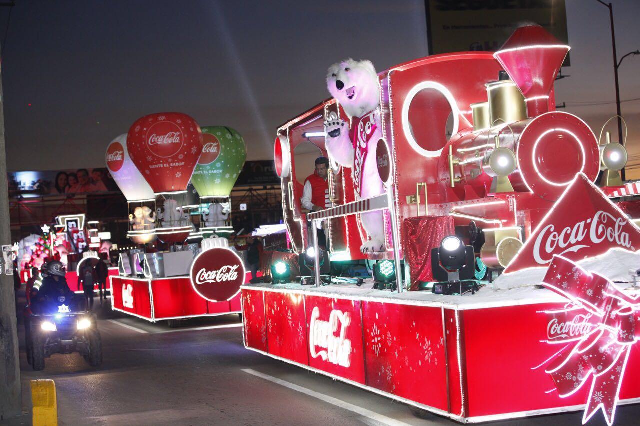 Caravana Coca-Cola en Puebla